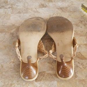 GASOLINE GLAMOUR Shoes - Woven Kitten Heels
